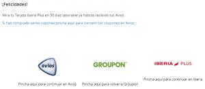 Iberia Groupon