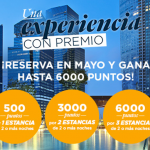 6.000 puntos Accor (=120€) o Avios con 3 estancias en Accor Hoteles
