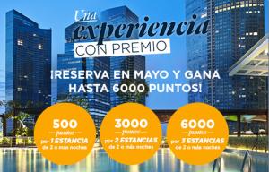 6.000 puntos Accor (=120€) o Avios con 3 estancias en Accor Hoteles