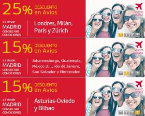 Descuento en Avios con Iberia Plus