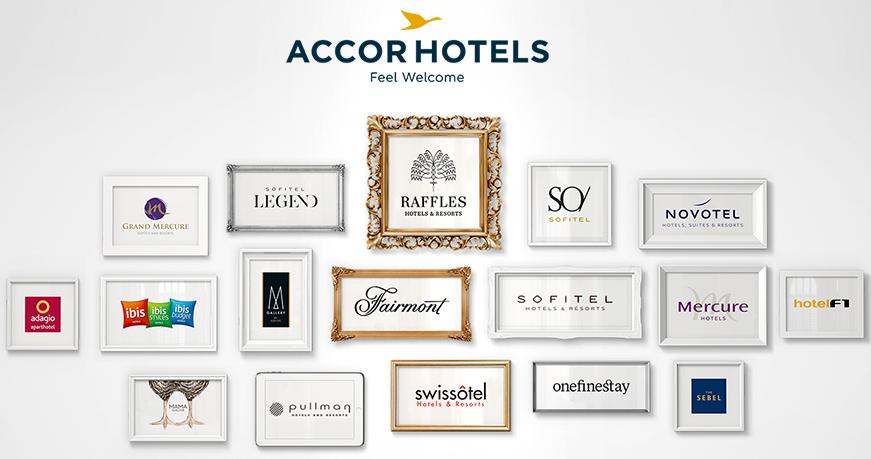 Algunas marcas participantes de Le Club AccorHotels.