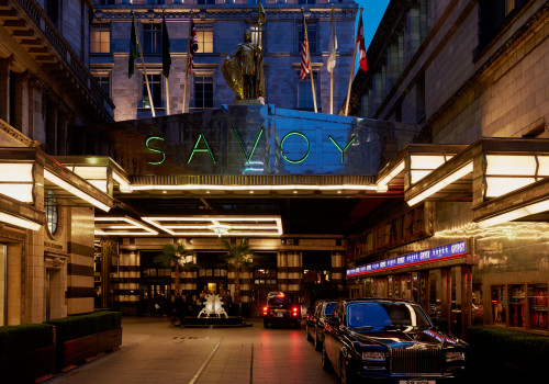 The Savoy Hotel en Londres. En el futuro, se incorporará a Le Club Accor Hotels.