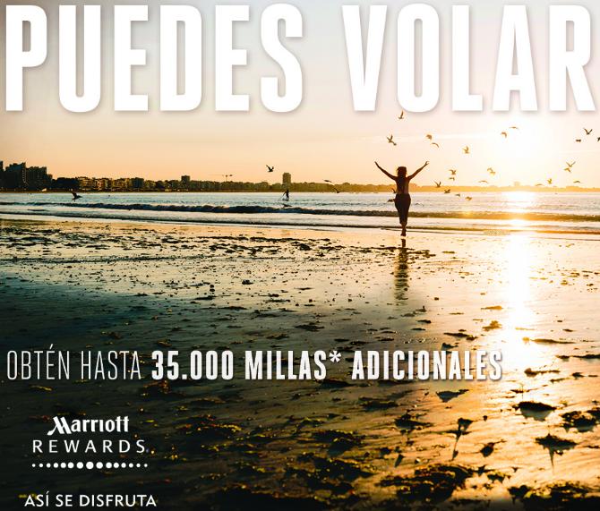 Obtén hasta 35.000 Avios con Iberia y Marriott Rewards