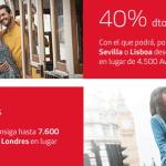 40% descuento en Avios y doble de Avios con Iberia
