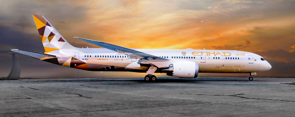 Etihad Airways: Abu Dhabi - Barcelona.