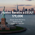 Norwegian lanza vuelos a Estados Unidos desde Barcelona