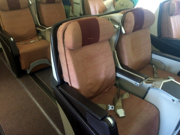 Asiento clase Business Plus A340-300 Iberia