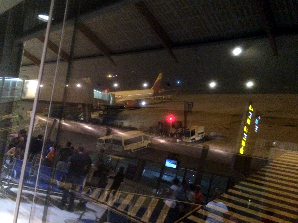 El A320 de Iberia Express que nos llevará a Madrid