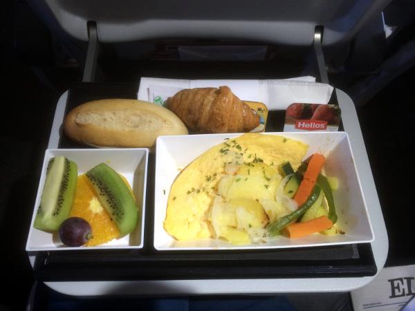Desayuno clase Business Iberia Express