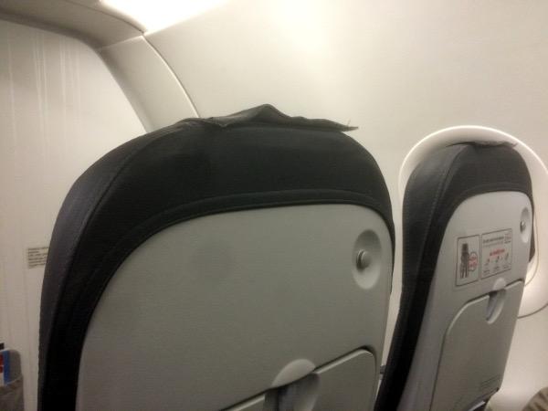 Asiento slim Iberia Express