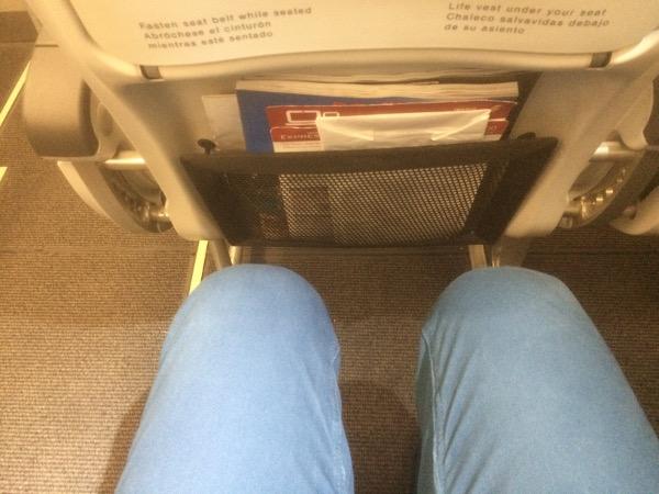 Asiento Iberia Express