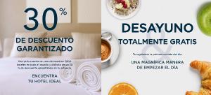 AccorHotels Precios Locos: 30% descuento + desayuno GRATIS