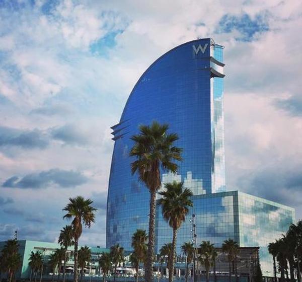 Hotel W Barcelona. SPG Categoría 6