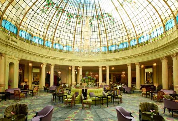 Impresionante vestíbulo de The Westin Palace Madrid. SPG Categoría 5