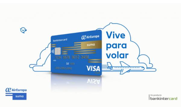 Millas SUMA adicionales con la tarjeta Visa Air Europa SUMA