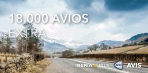 18.700 Avios con un único alquiler de coche con Avis