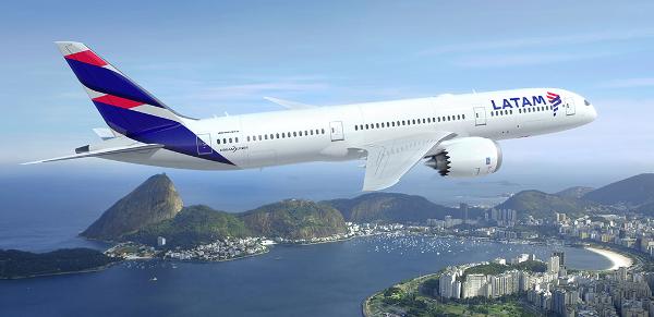 Dreamliner B787-9 de LATAM.