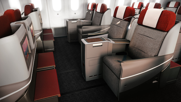 Butaca Business Premium LATAM Boeing 787.