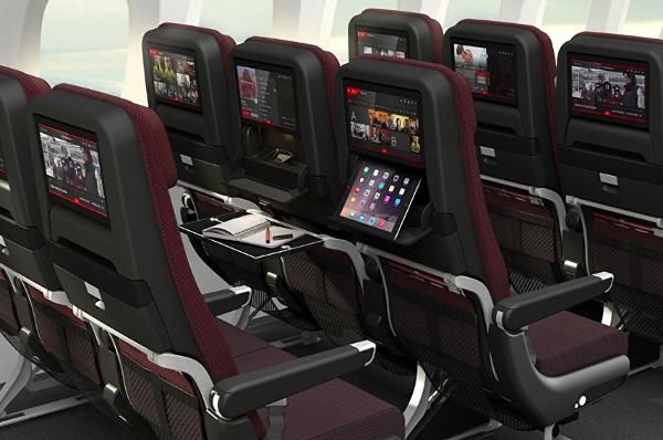 Turista Qantas Dreamliner 787-9.