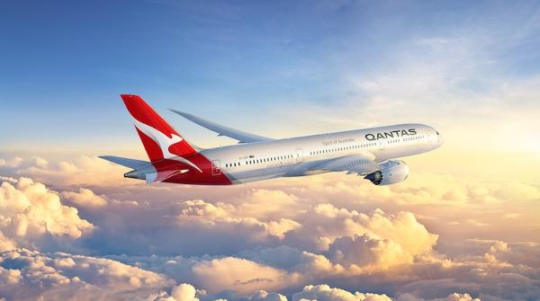 Qantas Dreamliner 787-9.