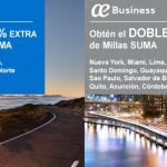 Promociones Air Europa SUMA ¡50% de descuento en millas!