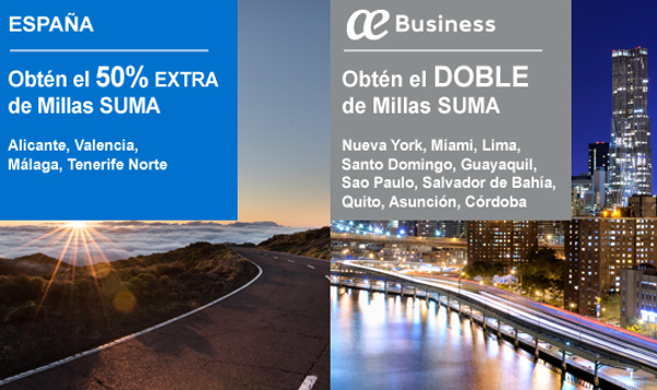 Promociones air europa suma 50 de descuento en millas for Oficinas de air europa en madrid