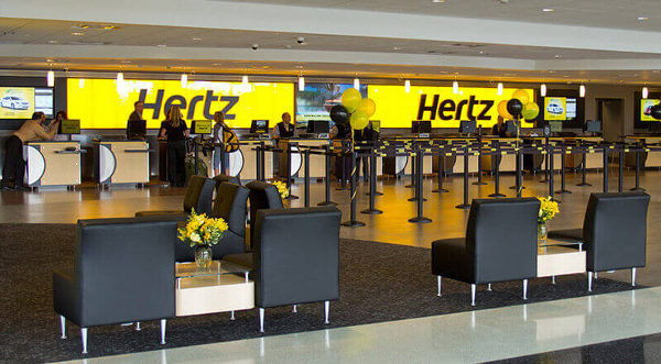 Puntos IHG con Hertz.