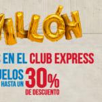 Iberia Expres 30%, Vueling 25€, nuevas rutas BA a Mánchester