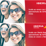 Puntos Avios adicionales y descuento en Avios con Iberia Plus