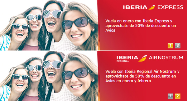 Descuento en Avios Iberia Plus