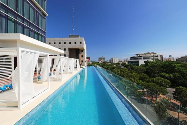 InterContinental Real Santo Domingo, por 5.000 puntos IHG Rewards Club.