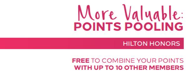 "Hilton Honors ya permite ""compartir puntos"" gratuitamente"