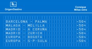 Promociones Air Europa Suma: ¡Bogotá y San Pedro Sula por 17.000 millas!