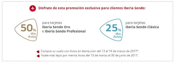 Promoción Iberia Sendo.