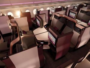 Qatar presenta QSuite, Iberia adelanta Turista Premium BOG y MEX, Iberia Sendo 50%