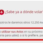 Tarjetas Sendo Iberia: 35% adicional al comprar Avios y anuncia hasta 50% de descuento en Avios