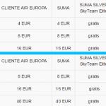 Air Europa reconfigura business (y elimina el upgrade de Platinum) y cobra por elegir asiento