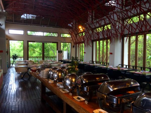 Veranda Chiang Mai: desayuno tipo buffet en The High Room.