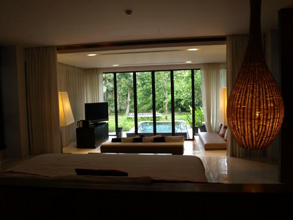 Veranda Chiang Mai: habitación Pavillion con piscina.