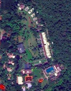 Mapa del resort Veranda Chiang Mai.