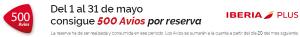 25/40€ descuento Tarjeta Regalo Iberia, 500 Avios el Tenedor, Vueling Club