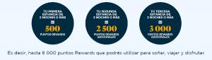 6.000 puntos Accor (=120€ o 6.000 Avios) con 3 estancias