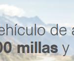 Miles&More: 5.000 millas con una estancia de hotel, 1.500 millas con Hertz. Qmiles: 6.000 millas con Avis