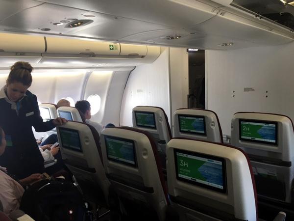 Cabina Turista Premium LEVEL A330-200.