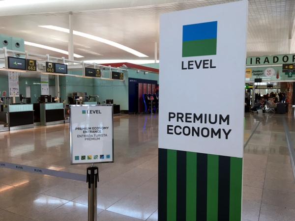 Mostrador facturación Turista Premium LEVEL.