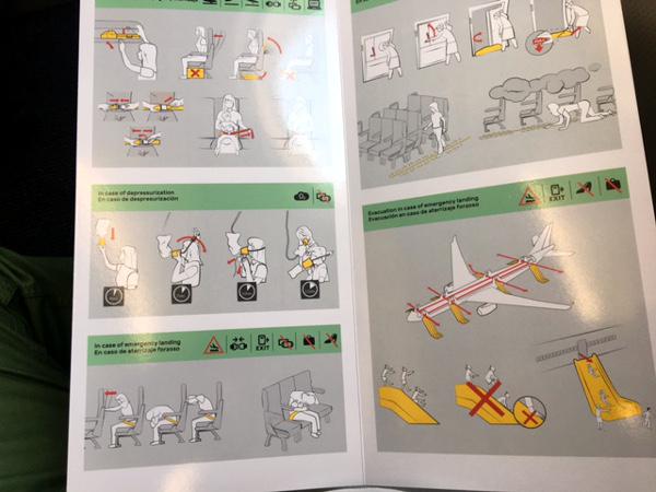 Instrucciones de seguridad A330-200 LEVEL.