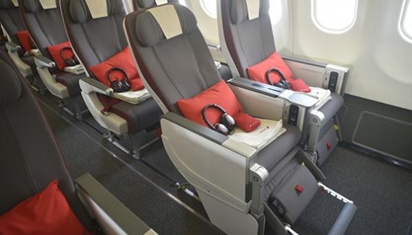 Clase Turista Premium de Iberia.