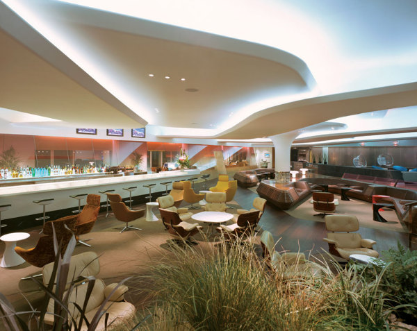 Clubhouse de Virgin Atlantic en Londres Heathrow.