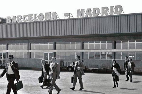 Puente Aéreo entre Madrid y Barcelona.