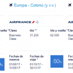 Premios Promo Flying Blue agosto 2017